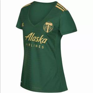 Portland Timbers MLS Adidas Women's Soccer Jersey